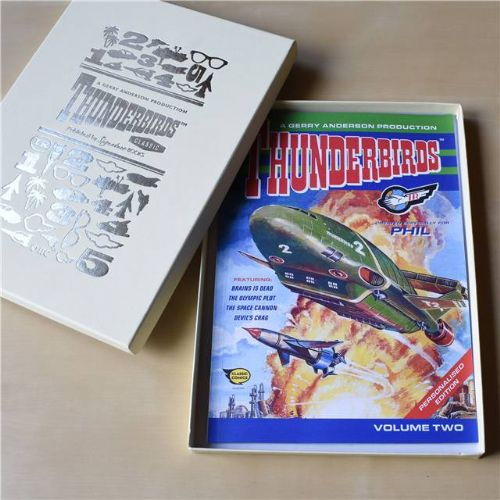 Thunderbirds Personalised Comic Volume 2